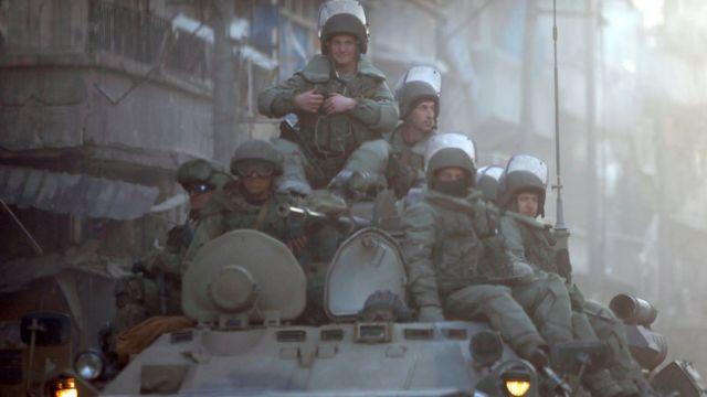 عسكريون روس في سوريا