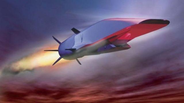 Hipersonik bir uçağın burun kısmı aşırı sıcaklıklara dayanmalıdır.