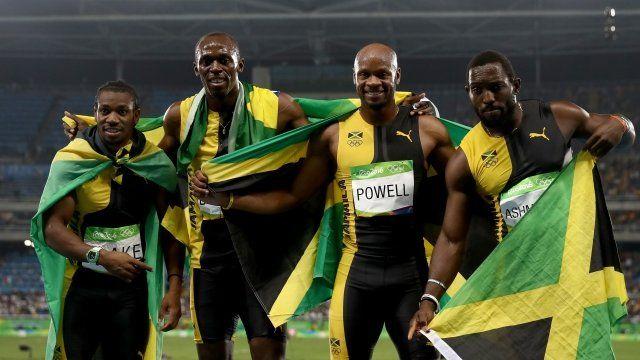 Los jamaiquinos se hicieron con el oro por tercera olimpiada consecutiva.
