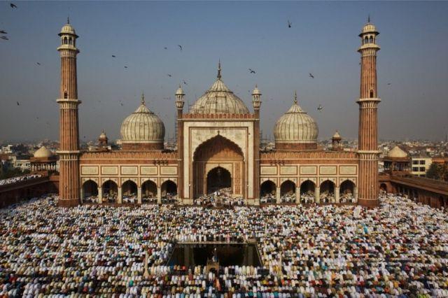 Jama Masjid di Delhi