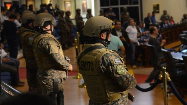 Militares El Salvador