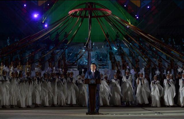 Кыргызстандын президенти Сооронбай Жээнбеков