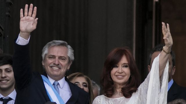 Alberto Fernández y Cristina Fernández de Kirchner asumen en 2019