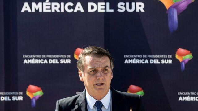 Bolsonaro no Chile