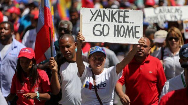 Николас Мадуро организовал митинг своих сторонников в Каракасе