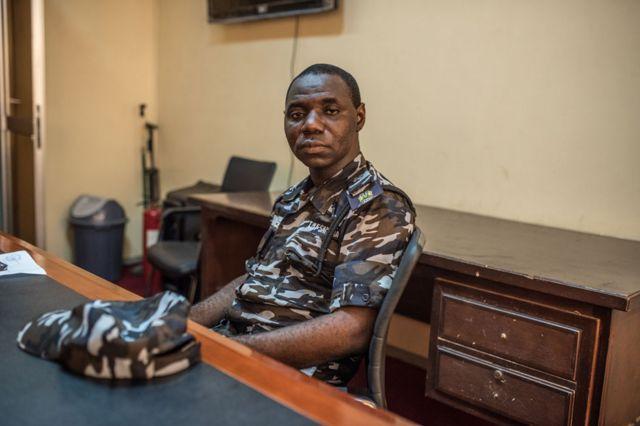 Ibrahim Samura, head of media of Sierra Leone police