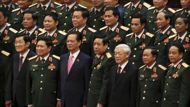 Communist party group shot