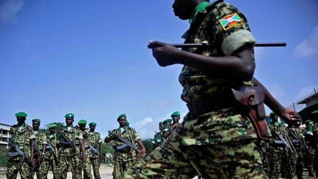 Uburundi busanzwe bufise abasirikare muri Somalia guhagararira amahoro