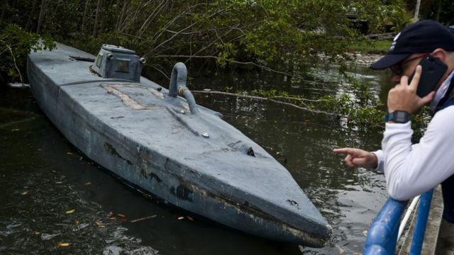 Submarino de cocaína