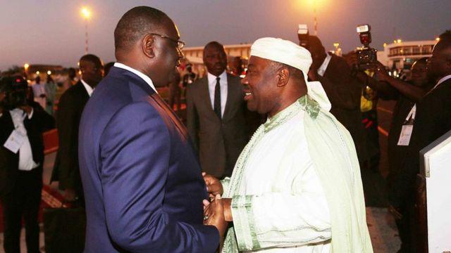 Macky Sall, Ali Bongon Ondimba.
