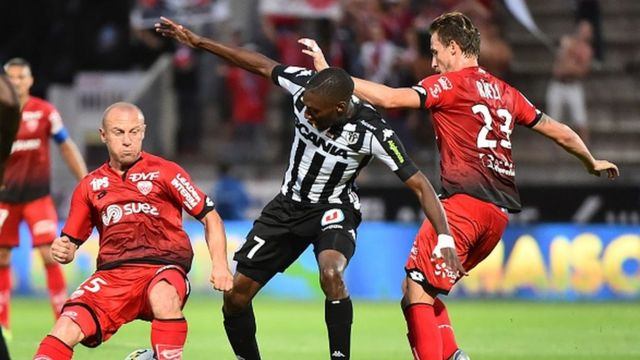 Le camerounais Karl Toko Ekambi a inscrit le but de la victoire pour Angers qui s'est imposé 1-0 sur la pelouse de Bordeaux.