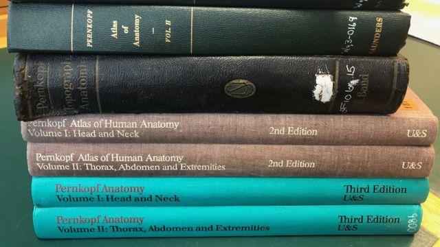 La Biblioteca Británica conserva varias copias del Atlas de Pernkopf.