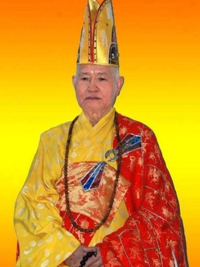 Chân dung Trưởng lão Hòa thượng Thích Quảng Độ