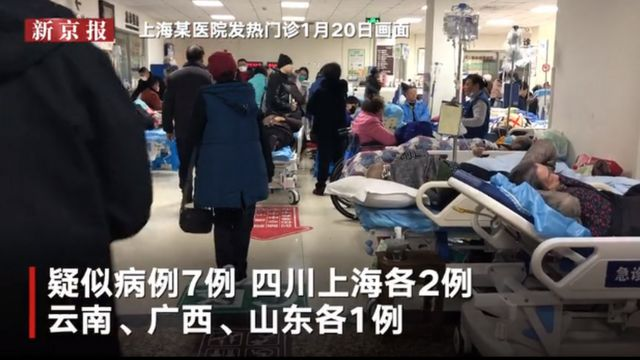 Coronavirus outbreaks in Shanghai.