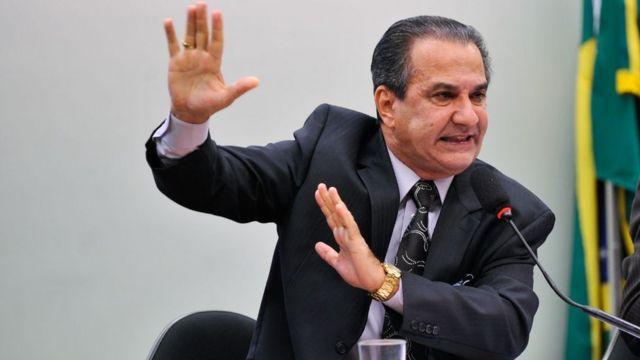 Silas Malafaia, em audiência na Câmara em 2015