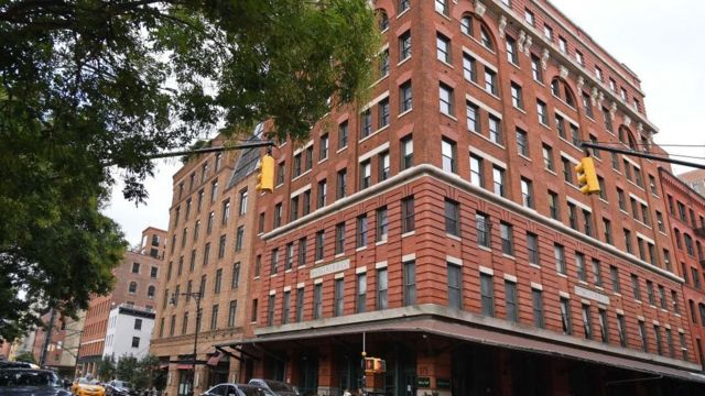 La oficina central de la Compañía Weinstein en Tribeca, Nueva York