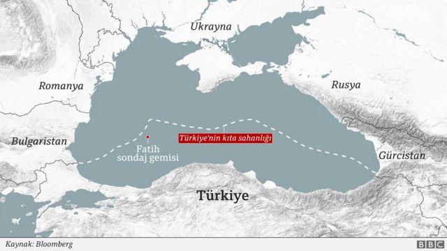 Türkiye'nin Karadeniz'deki kıta sahanlığı