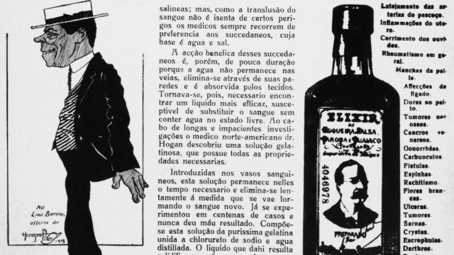 Página do jornal 'Cigarra', de 1919