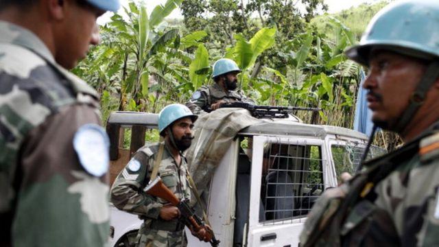 Des soldats indiens de l'ONU en République démocratique du Congo, en 2008 (illustration)