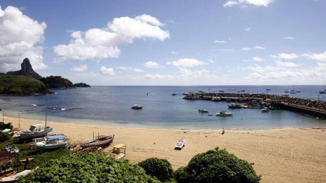 Isla Fernando de Noronha, Brasil (foto de archivo).