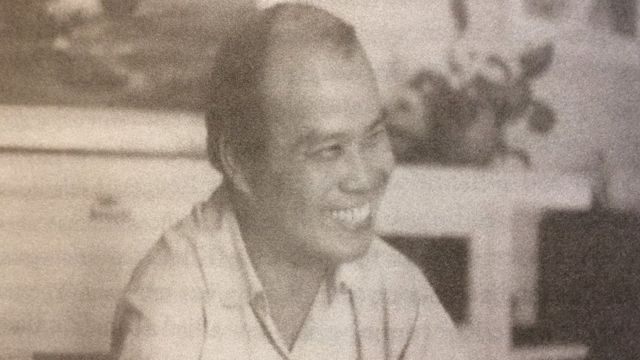 Cha Stêphanô Chân Tín năm 1974