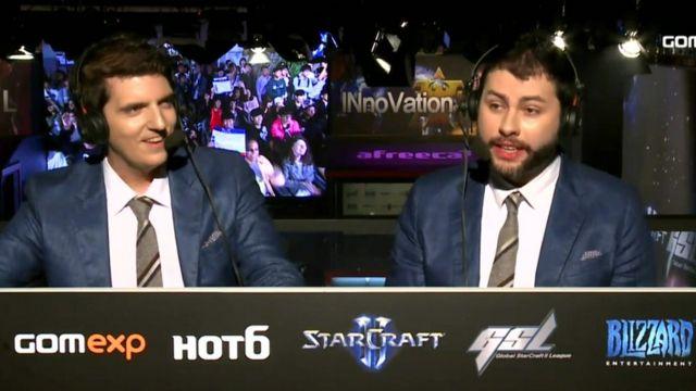 E-sports commentators