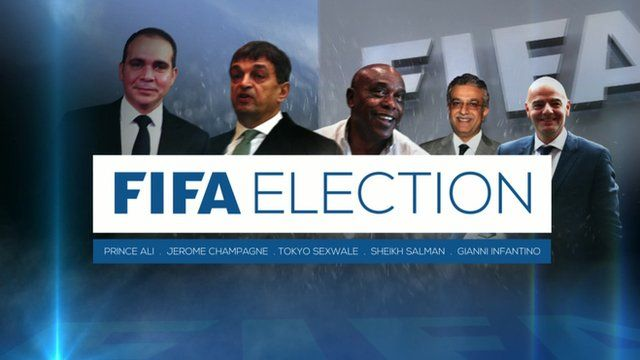 The five candidates running to succeed Blatter