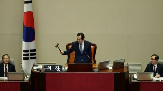 رئيس برلمان كوريا الجنوبية