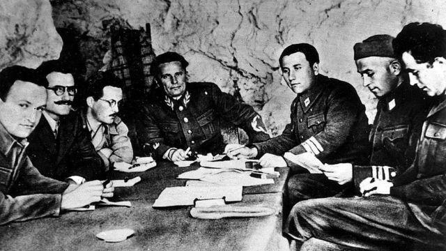 Лідер комуністів Тіто