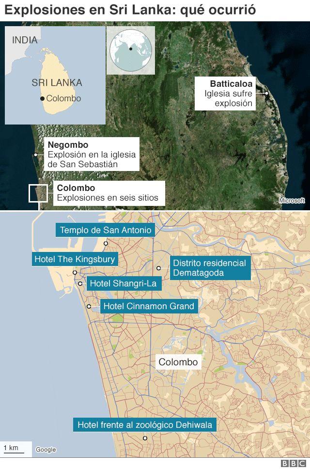 mapa explosiones