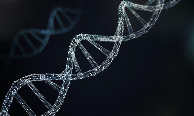 Визуализация спирали ДНК