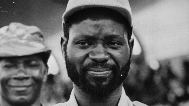 Samora Machel, leader du mouvement indépendantiste mozambicain