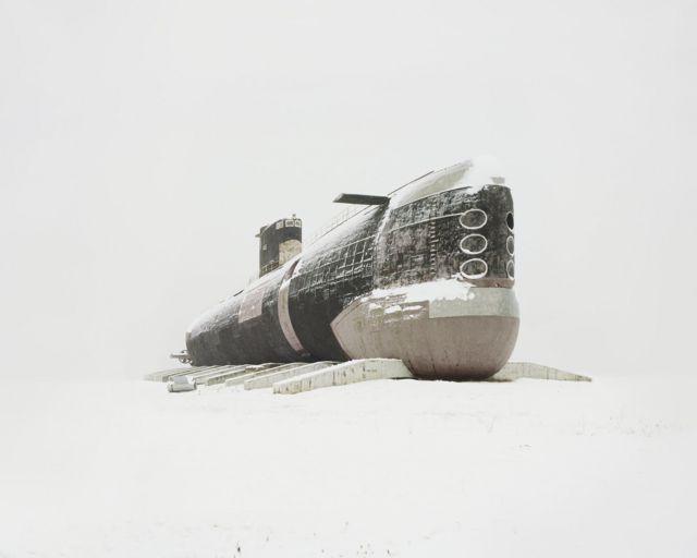Submarino abandonado