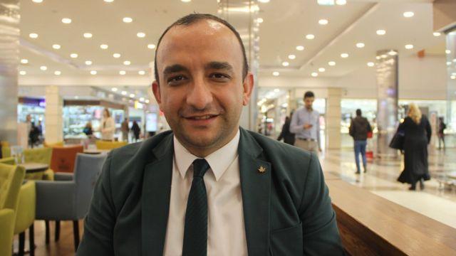 Türk Hukuk Ensitüsü Konya Şube Başkanı Gökhan Tozoğlu