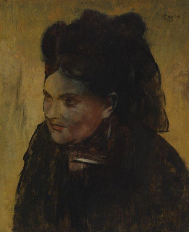 Hidden Degas portrait revealed