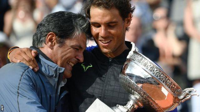 Toni y Rafa Nadal