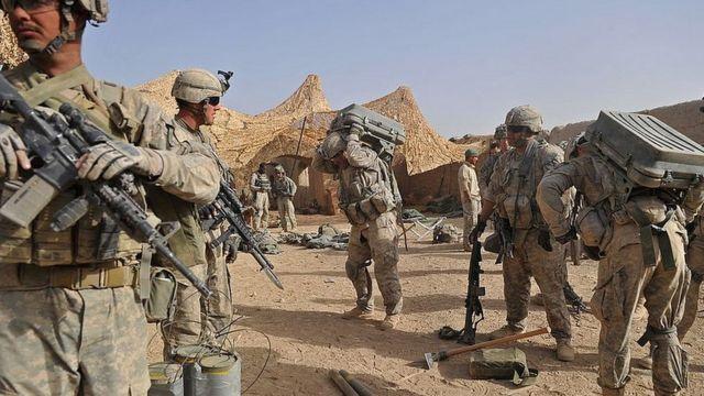 Американские военные в Кандагаре