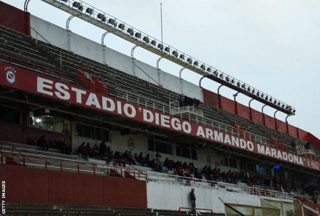 Estadio Diego Armando Maradona general view