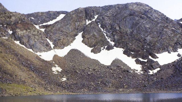 Гора в средней азии
