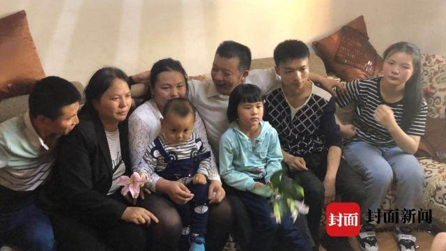 A família recém-descoberta de Kang Ying