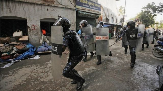 India concern over Nepal violence following new constitution