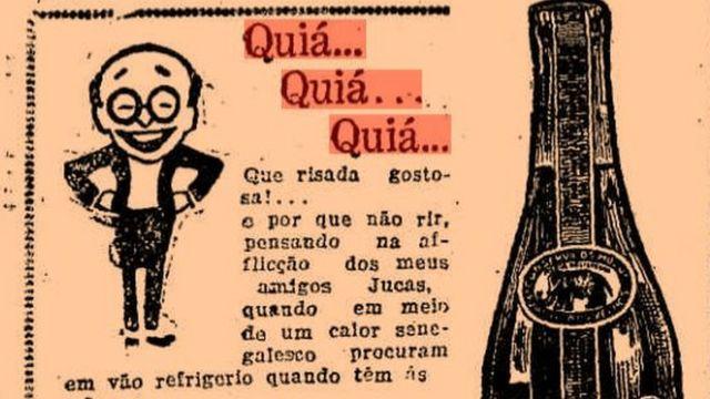 """Propaganda do tônico """"Vanadiol"""", em 1927, no """"O Estado de S. Paulo"""""""