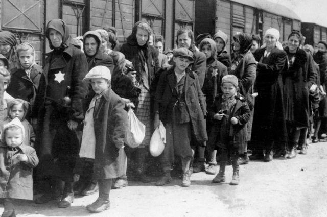 Mađarski Jevreji u Aušvicu, januar 1942.