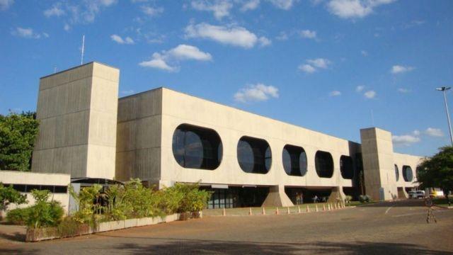 O prédio do CCBB, em Brasília