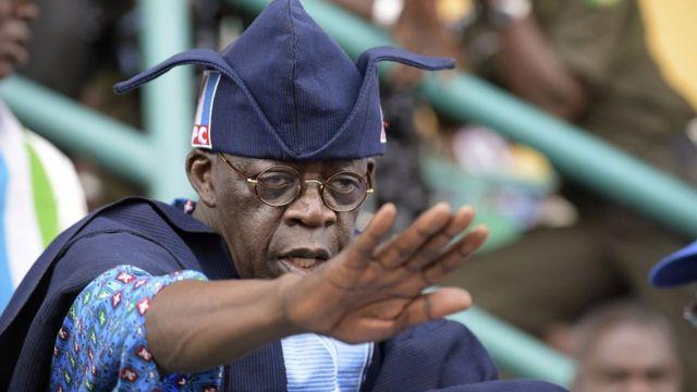 Tinubu deny tori say im wan contest for 2023 presidency - BBC News Pidgin