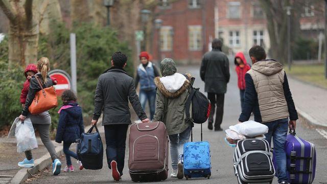 Almanya göçmenler