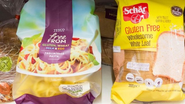 Produtos 'gluten-free'