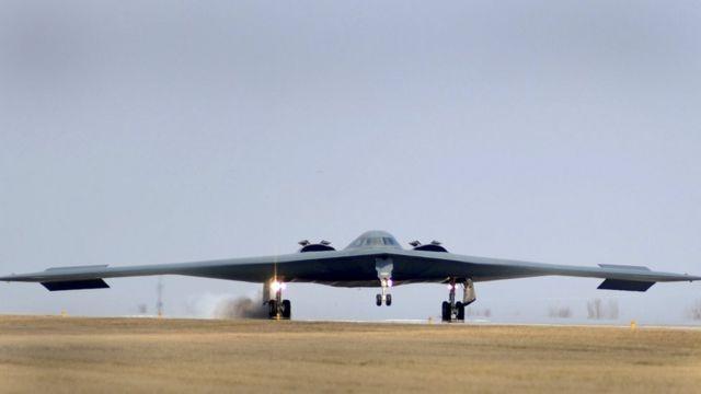 Bombardero de la fuerza aérea de EE.UU.