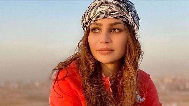 صورة لعارضة الأزياء اللبنانية زينة كنجو من صفحتها على انستغرام