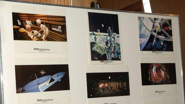 ২০০১: এ স্পেস ওডিসি ছবির কিছু দৃশ্য